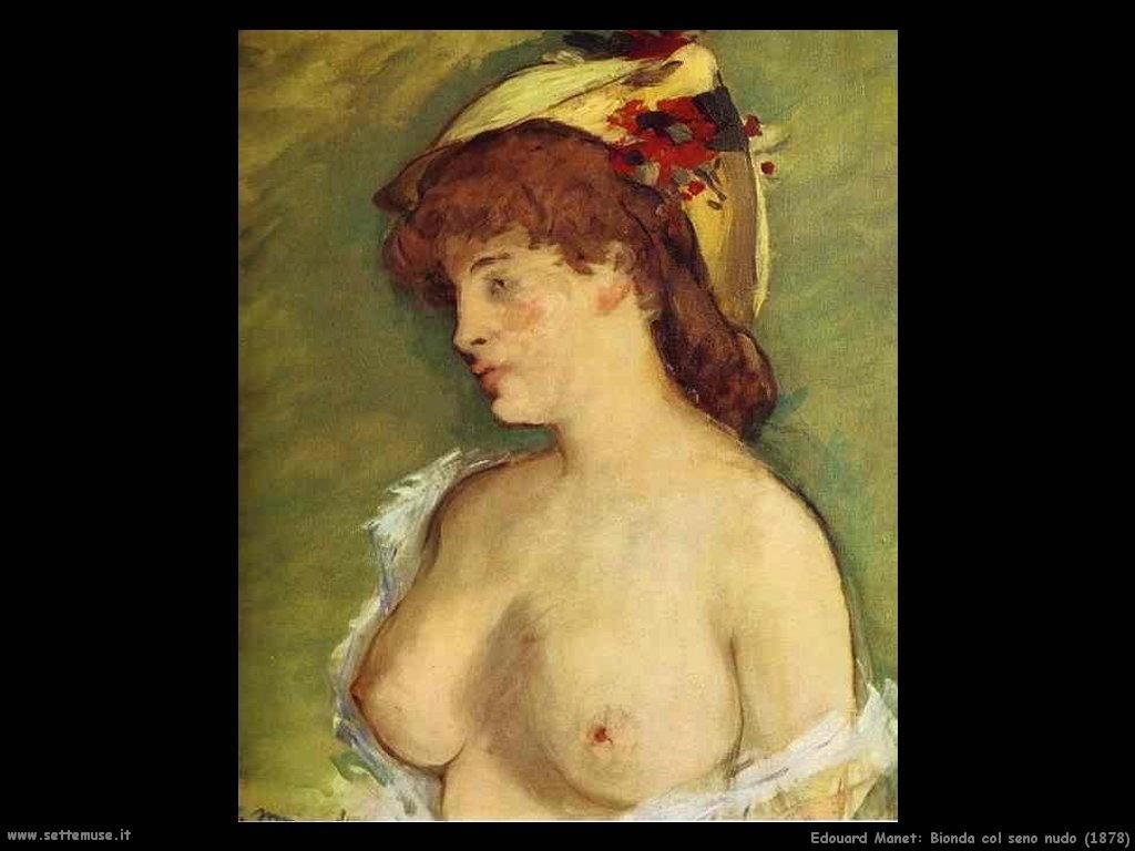 Edouard Manet_bionda_col_seno_nudo_1878
