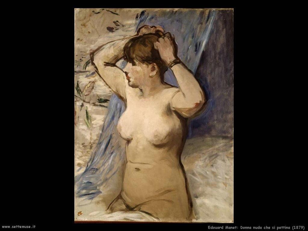Edouard Manetdonna_nuda_che_si_pettina_1879