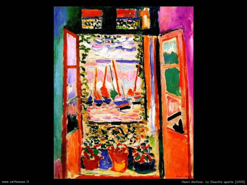 Henri matisse pittore biografia - Finestra italiana ...
