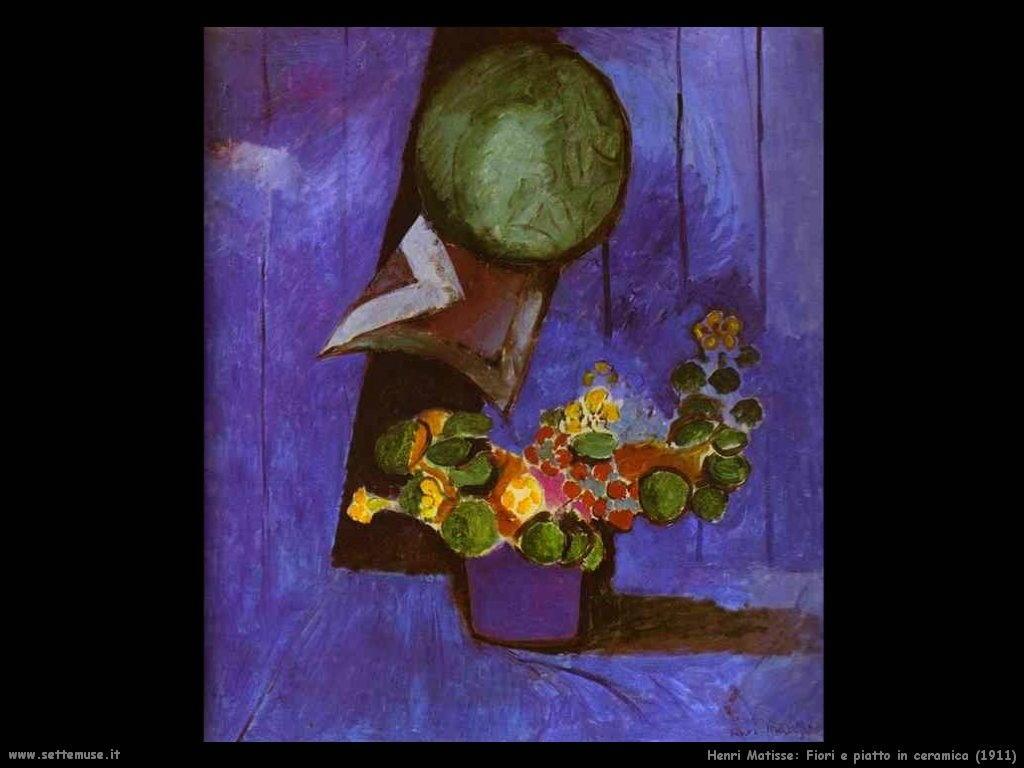 1911_henri_matisse_138_fiori_e_piatto_in_ceramica