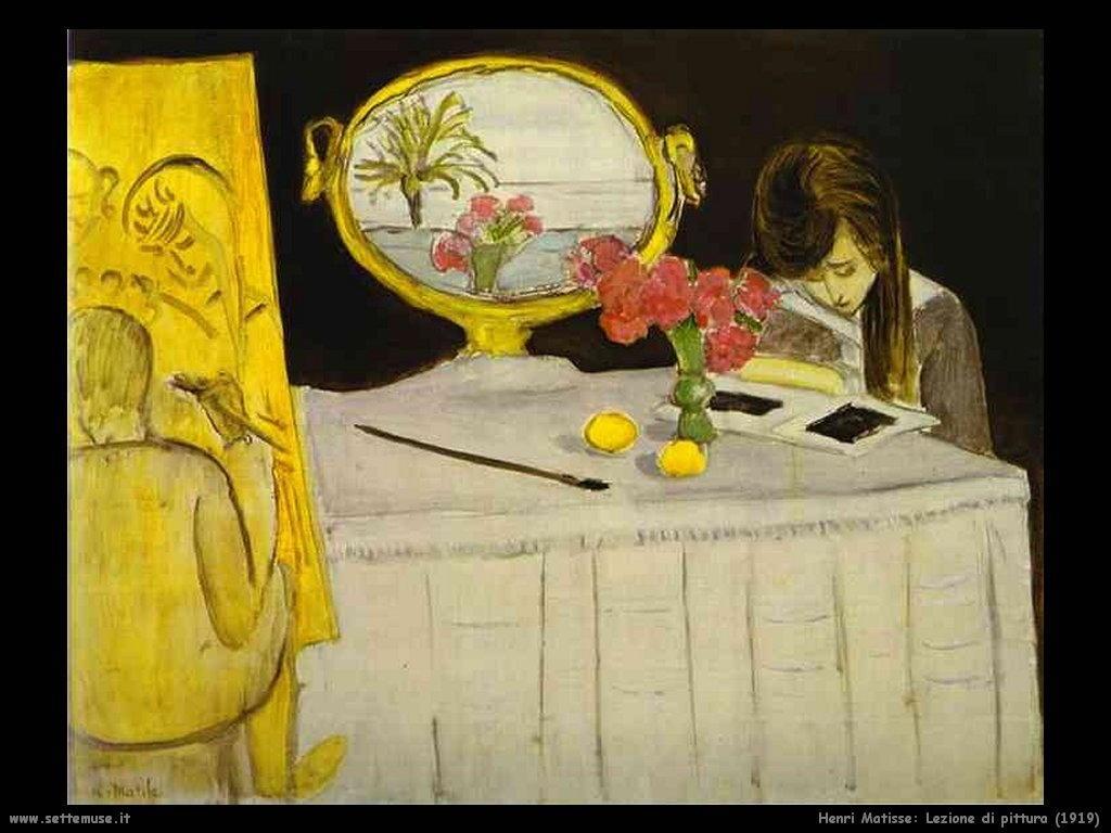1919_henri_matisse_163_lezione_di_pittura