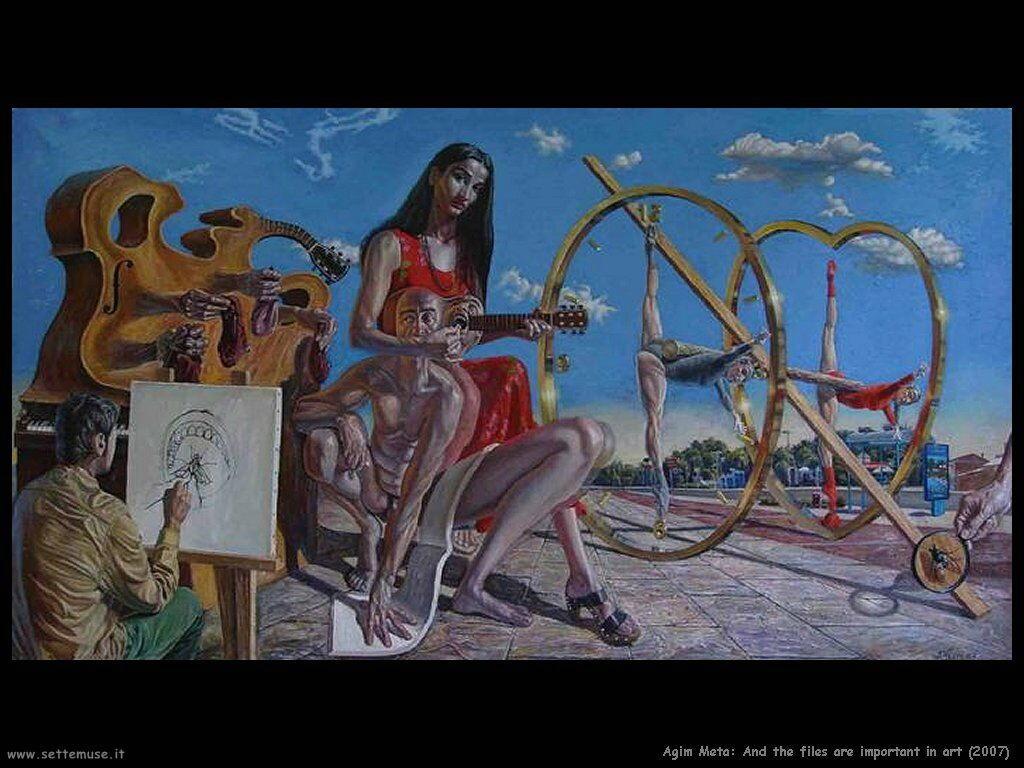 agim_meta_E i file sono importanti nell'arte (2007)