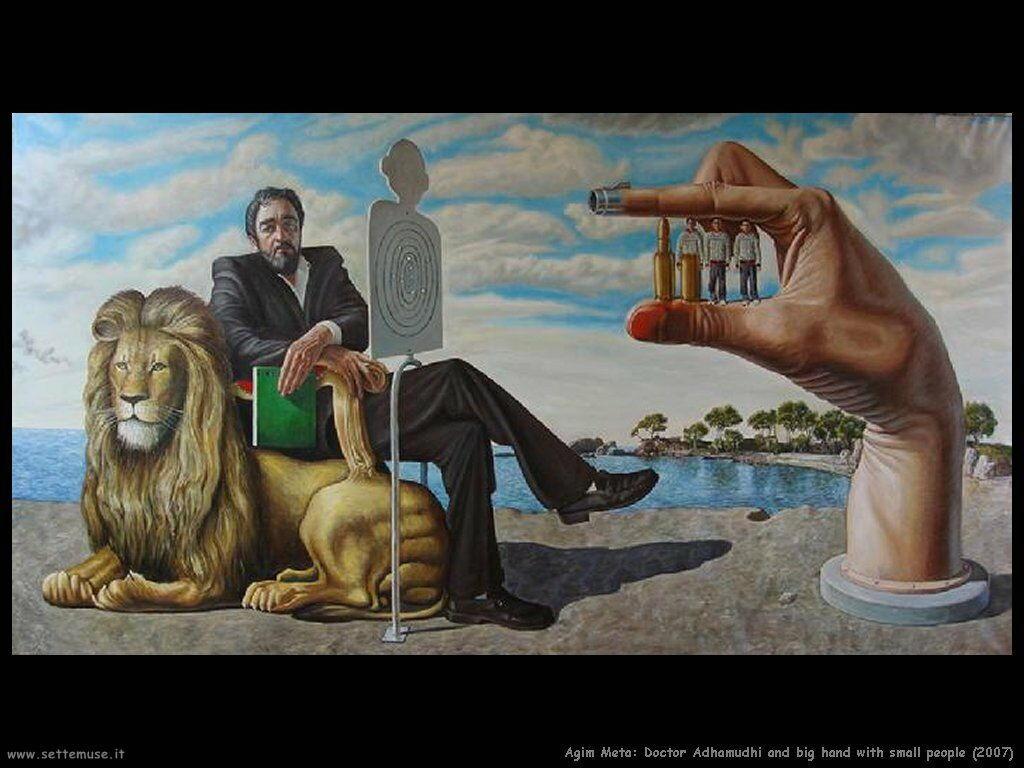 agim_meta_Medico Adhamudhi e la mano grande con piccolo popolo (2007)