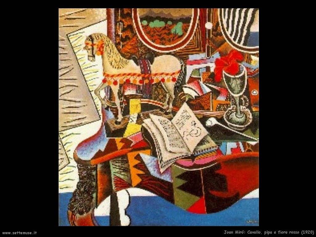 1920_joan_miro_032_cavallo_pipa_fiore_rosso