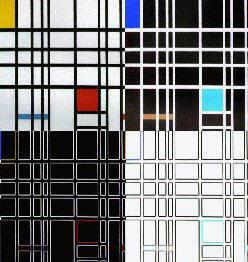 Dipinto di Piet Mondrian