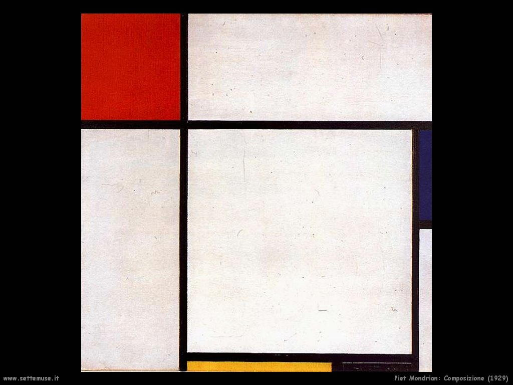 Piet Mondrian_composizione_1929