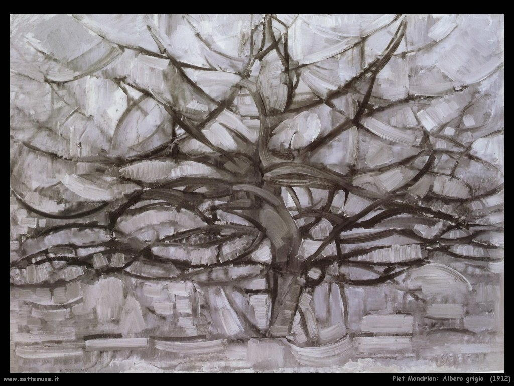 Piet Mondrian_albero_grigio_1912