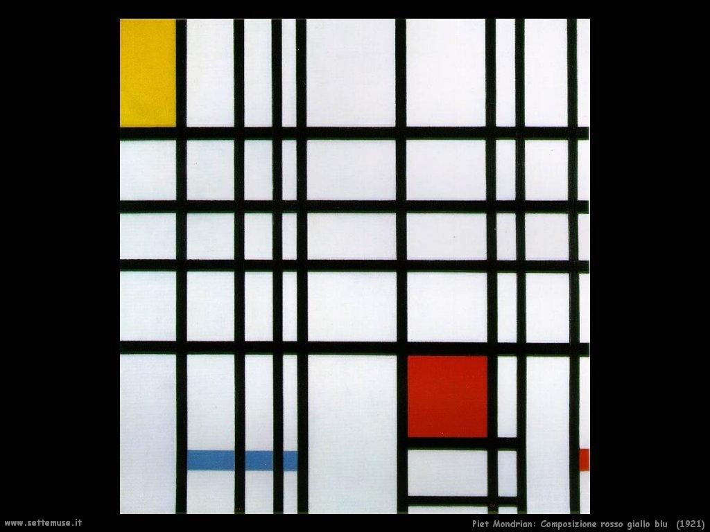 Piet Mondrian_Composizione_rosso_giallo_blu_1921