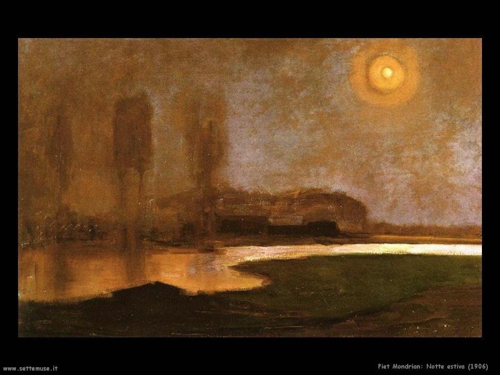 Piet Mondrian_notte_estiva_1906