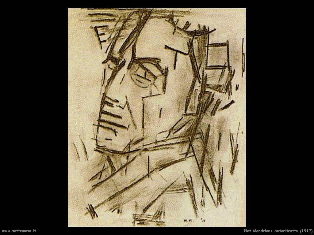 Piet Mondrian_autoritratto_1912