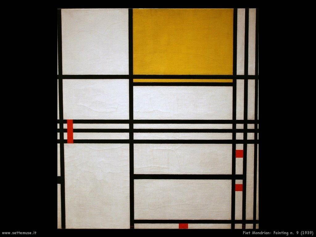Piet Mondrian_Painting_No_ 9_1939