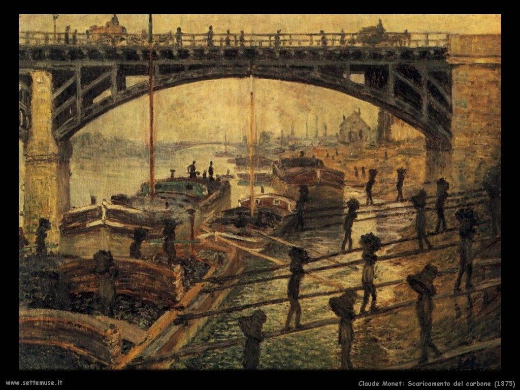 Claude Monet_scaricamento_del_carbone_1875