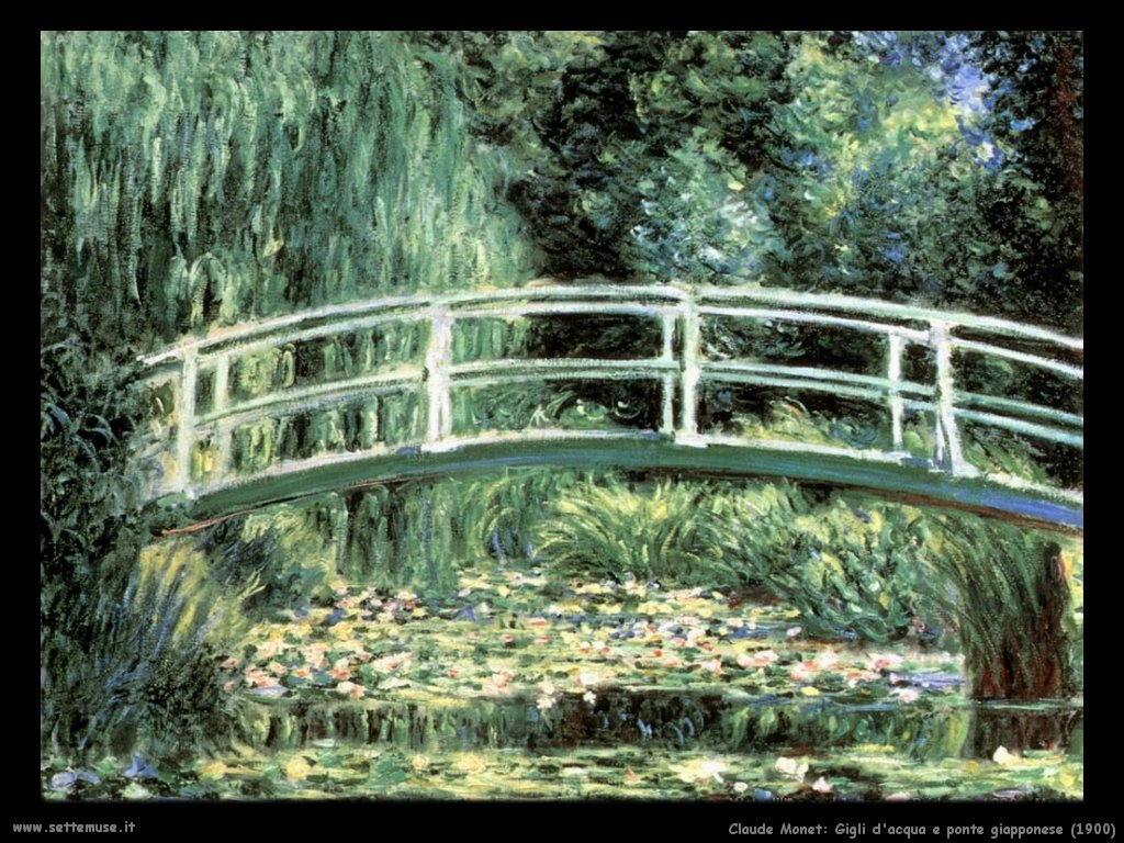 Claude Monet_gigli_e_ponte_giapponese_1900