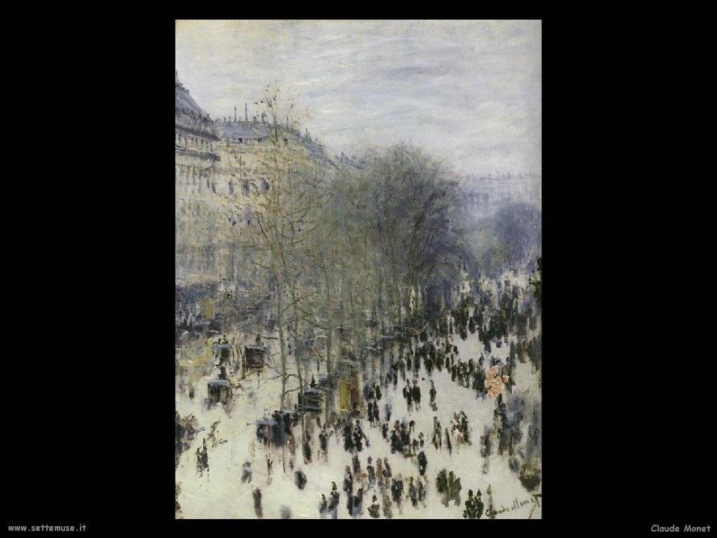Claude Monet Boulevard des Capucines