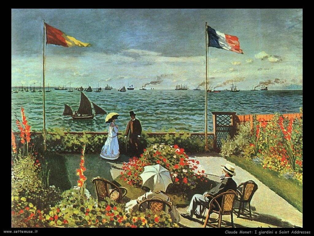 Claude Monet_giardini_a_saint_addresse