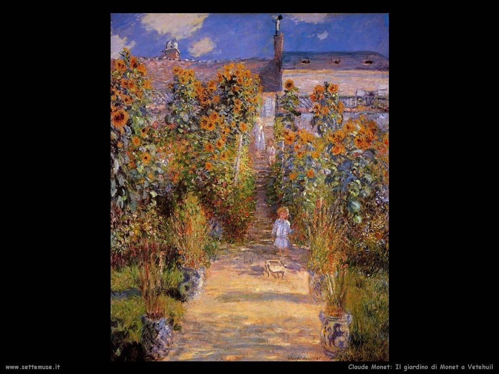 Claude monet pittore altre opere 2 - Il giardino di monet ...