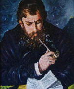 Pittura di Claude Monet