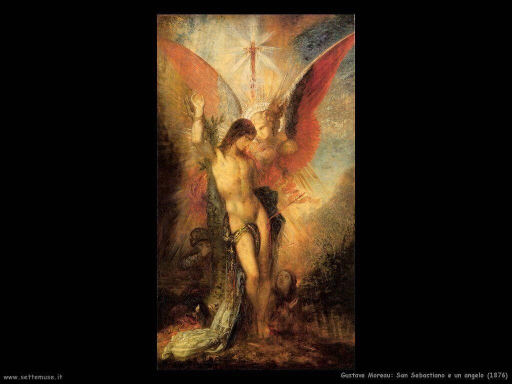 gustave_moreau_018_san_sebastiano_e_angelo_1876