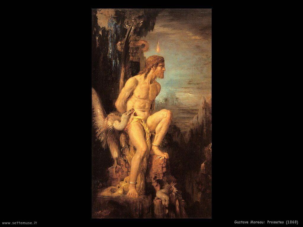 Gustave Moreau  Prometeo  1868