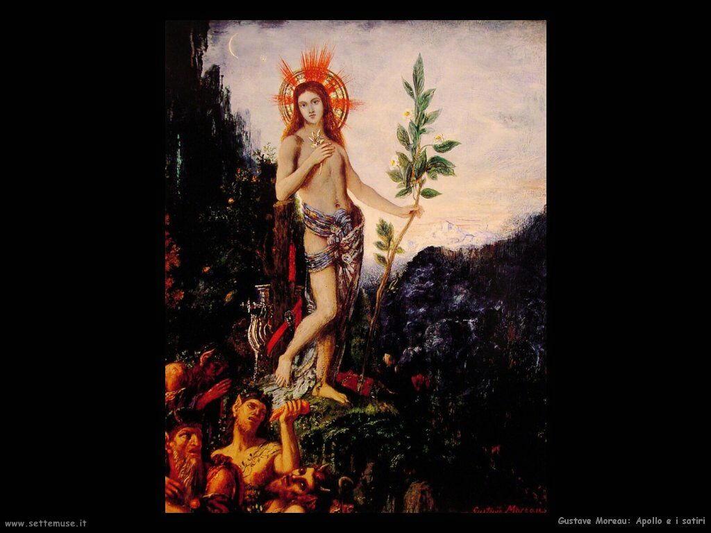 Moreau Apollo e i satiri