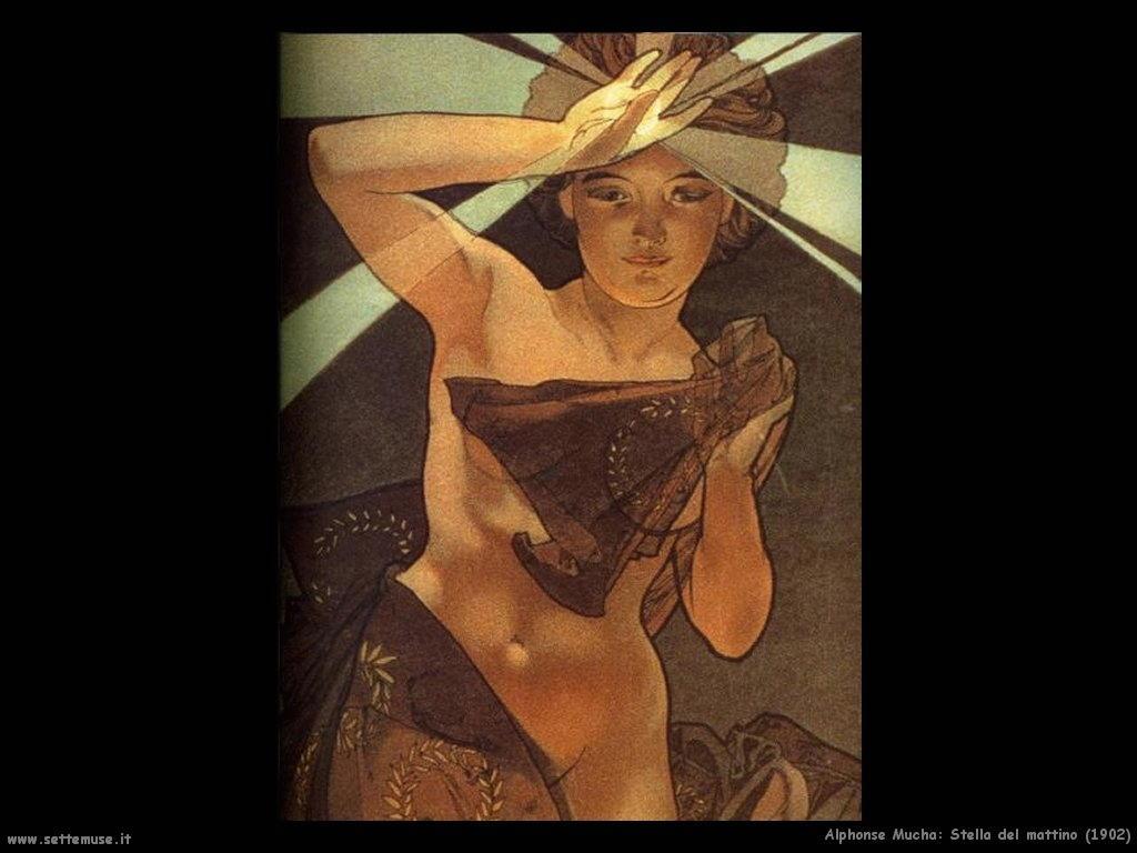 alphonse_mucha_stella_del_mattino_1902