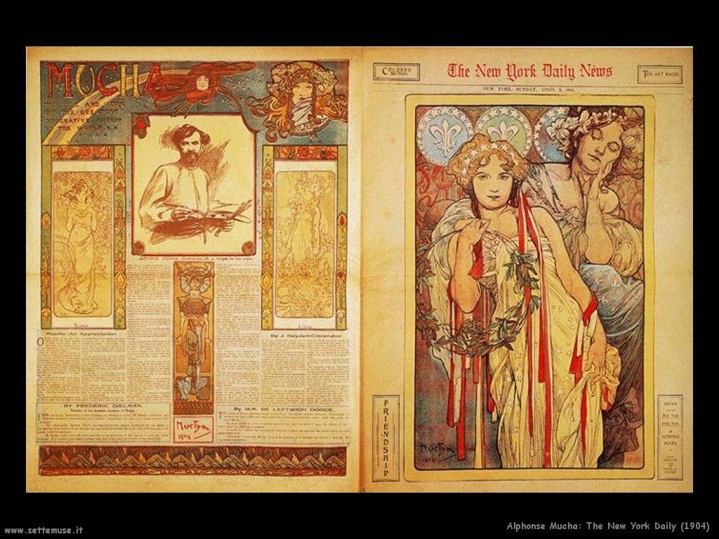 alphonse_mucha_new_york_daily_news_1904