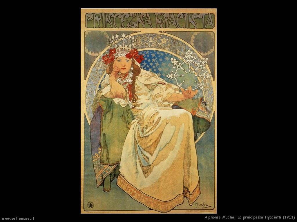 alphonse_mucha_principessa_hyacinth_1911