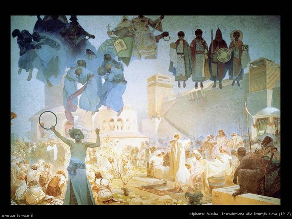 alphonse_mucha_introduzione_liturgia_slava_1912