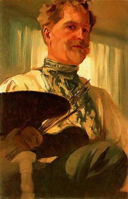 Autoritratto di Alphonse Mucha