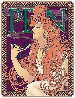 Illustrazione di Alphonse Mucha