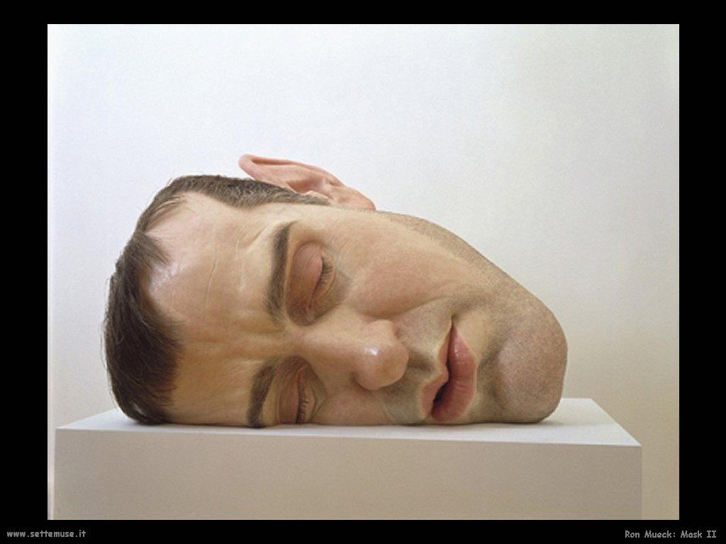 Ron Mueck_mask_II