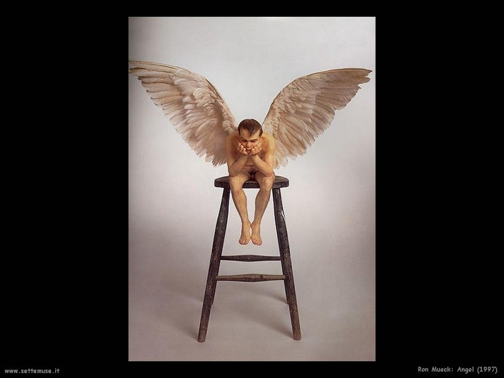 Ron Mueck_angel_1997