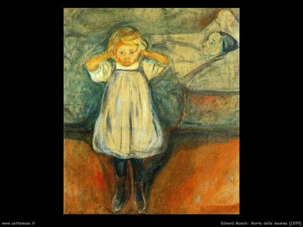 edvard_munch_morte_della_mamma_1899
