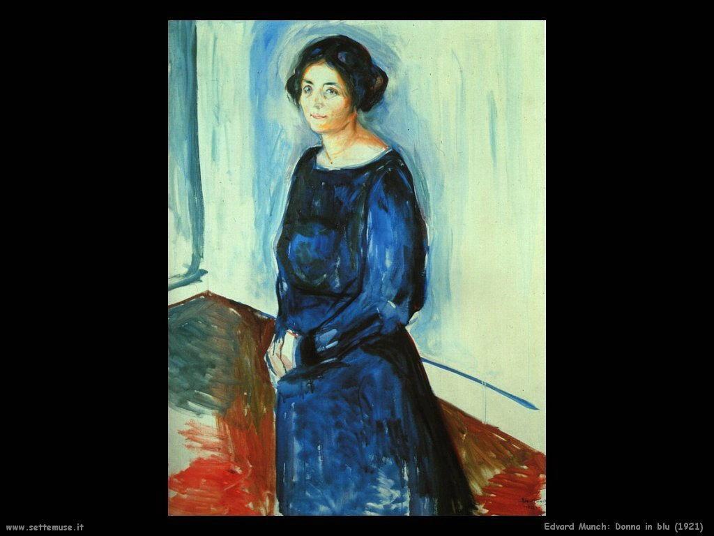 Donna in blu (1921)