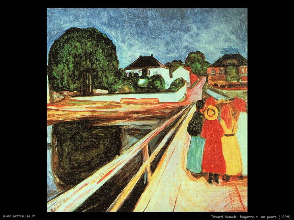 Ragazze su un ponte (1899)