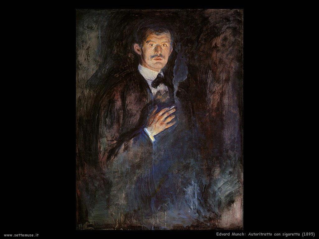 Autoritratto con sigaretta (1895)