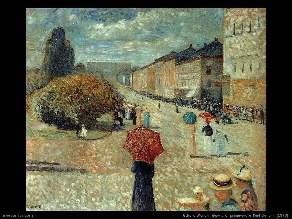 Giorno di primavera in Karl Johann (1890)