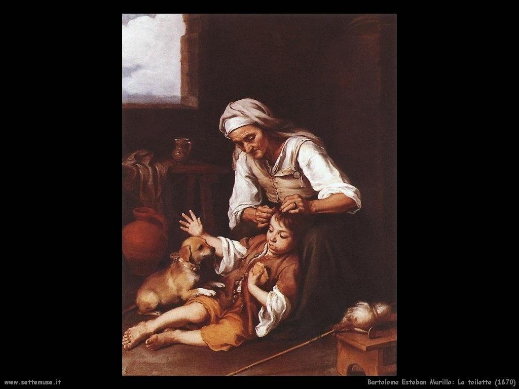 Bartolomé Esteban Murillo_la_toilette_1670