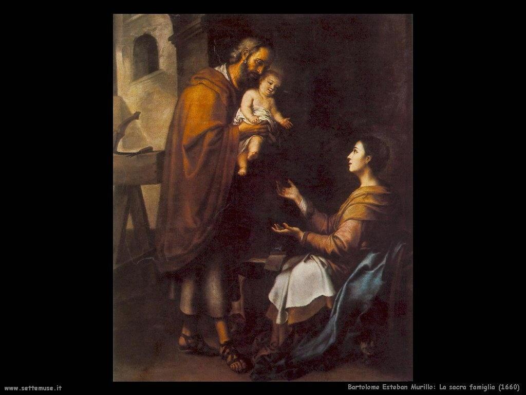 Bartolomé Esteban Murillo_la_sacra_famiglia_1660