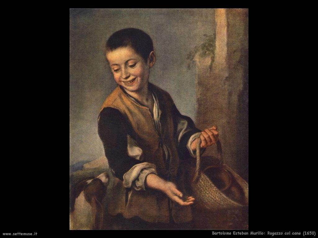 Bartolomé Esteban Murillo_ragazzo_col_cane_1650