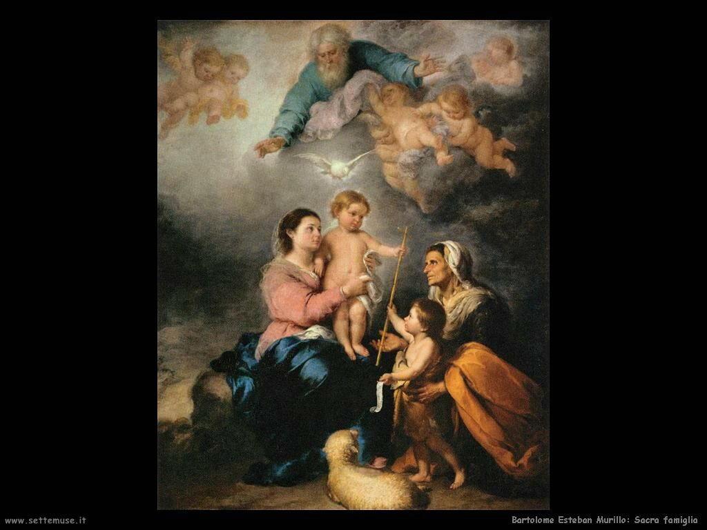 Murillo sacra famiglia