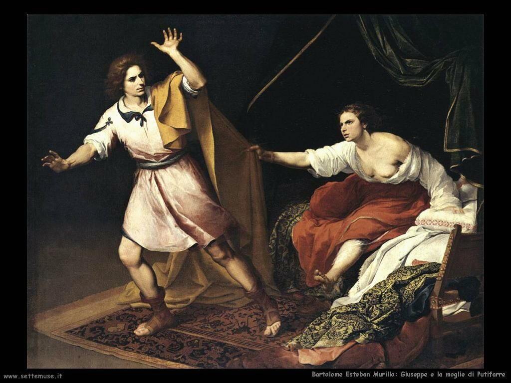 Murillo giuseppe e moglie di putifarre