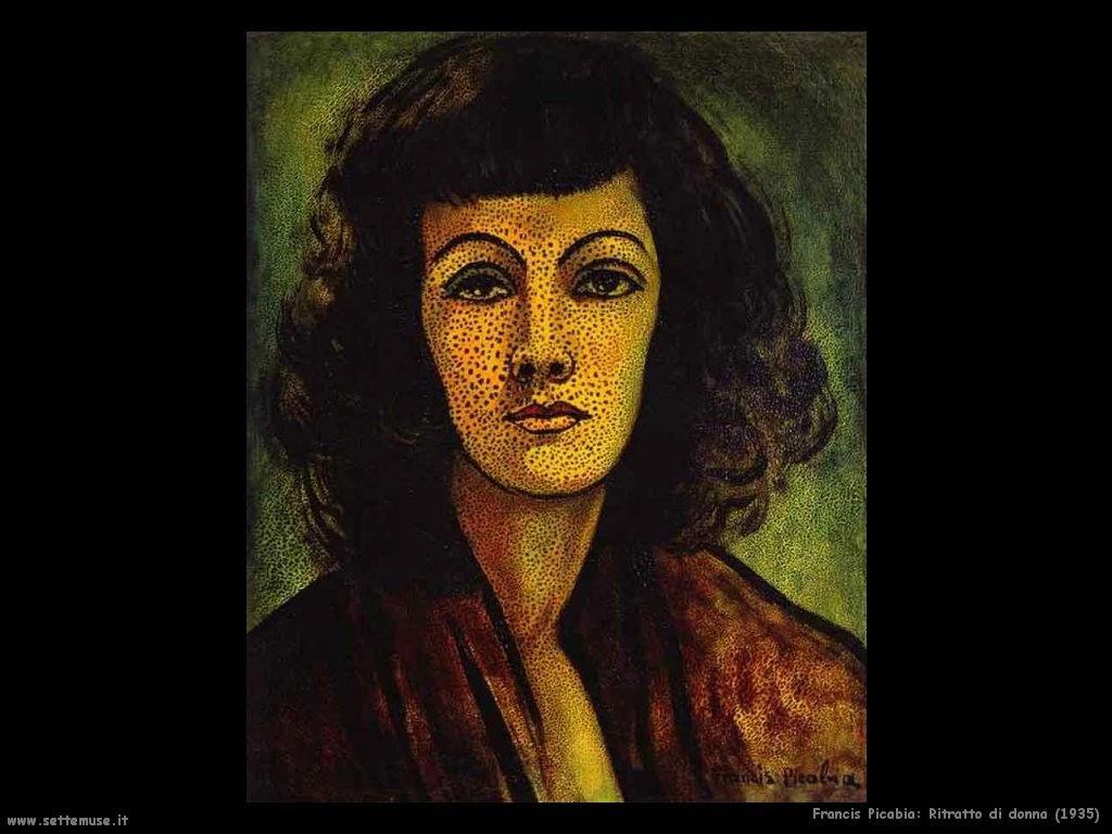 francis_picabia_ritratto_di_donna_1935