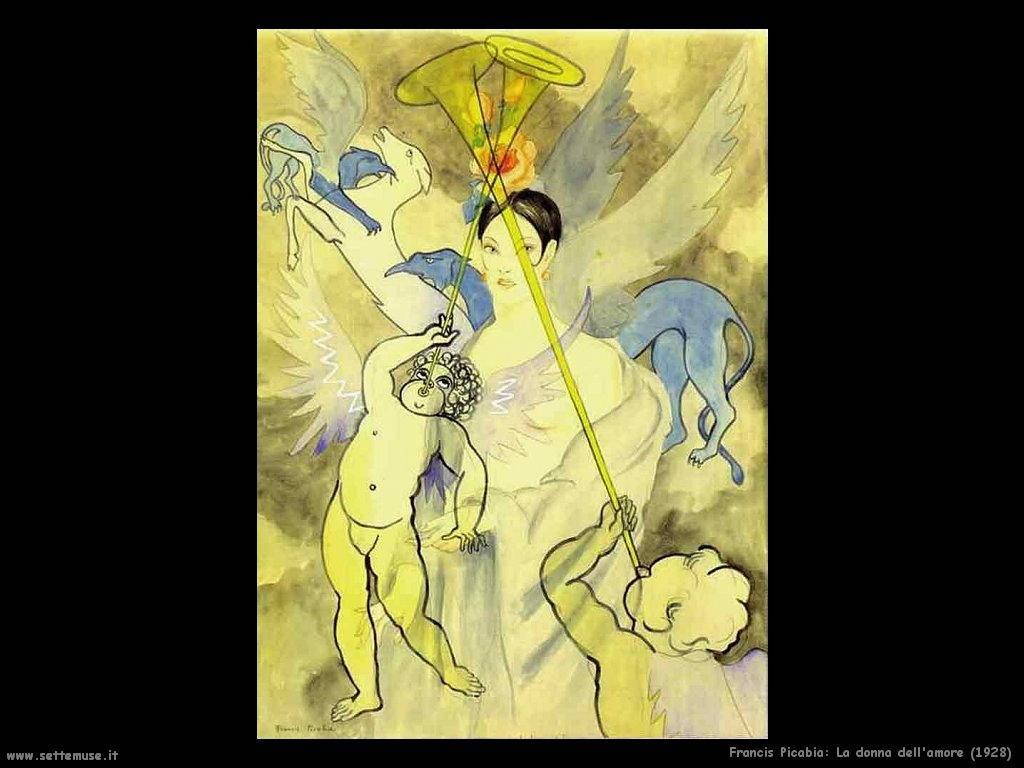 francis_picabia_la_donna_dell_amore_1928