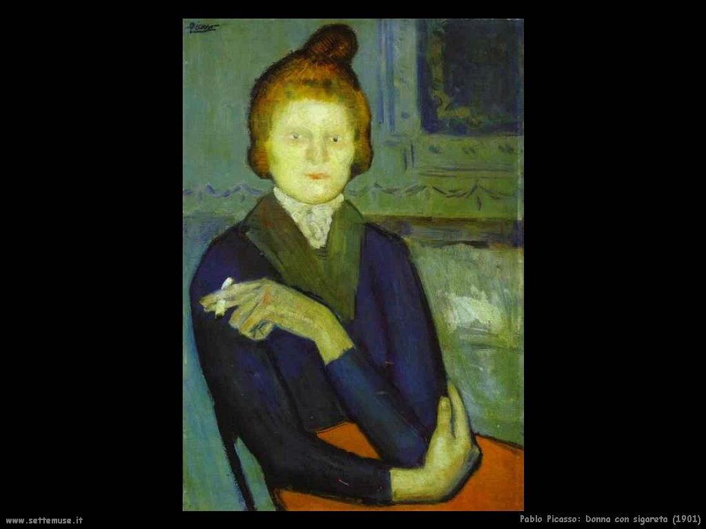 1901_pablo_picasso_donna_con_sigaretta