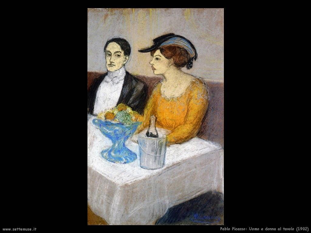 1902_pablo_picasso_uomo_e_donna_al_tavolo