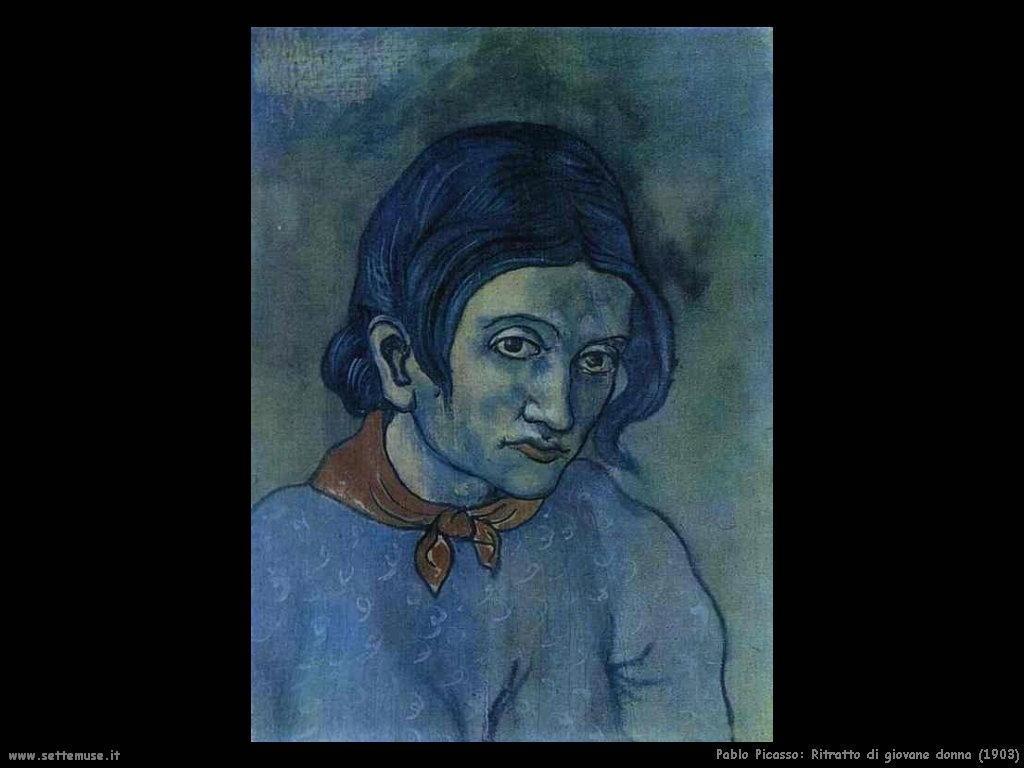 1903 ritratto giovane donna