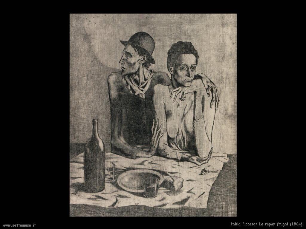 1904 le repas frugal