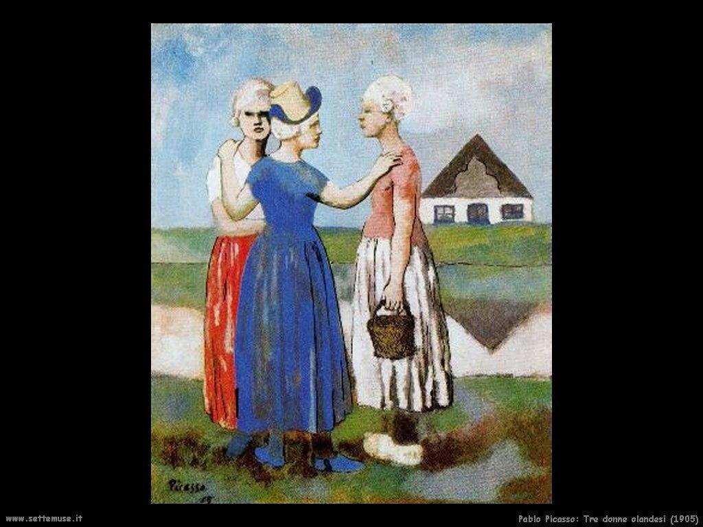 1905_pablo_picasso_tre_donne_olandesi