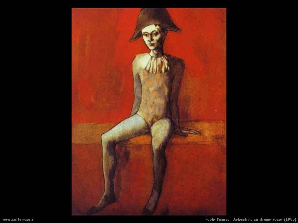 1905_pablo_picasso_arlecchino_su_divano_rosso